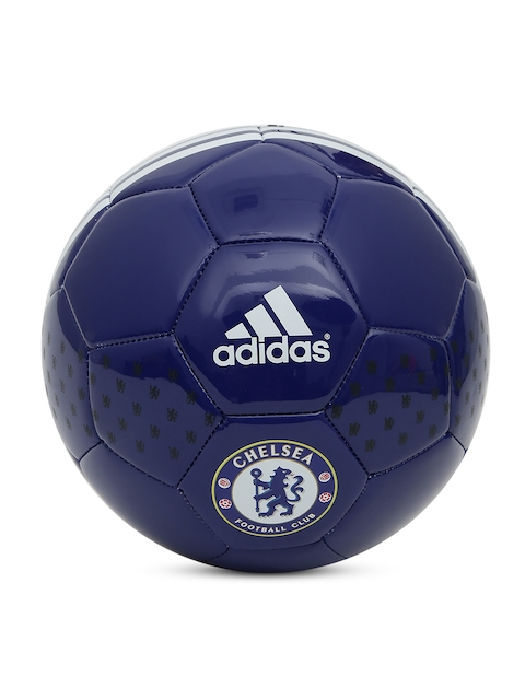 Adidas Men Navy Chelsea FC Printed Football