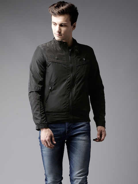 Flying Machine Men Black Jacket