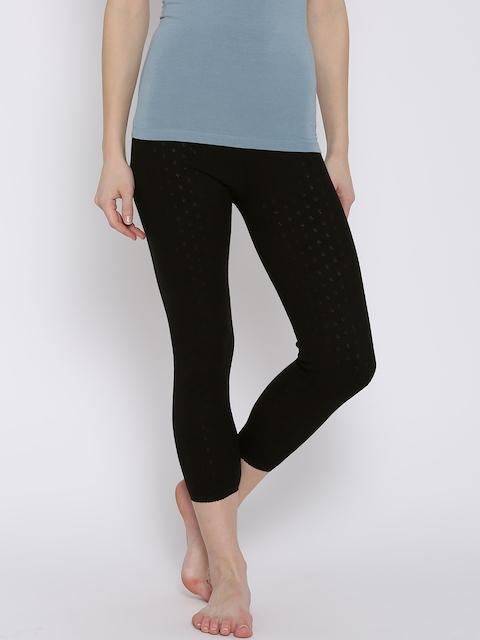 Kanvin Black Thermal Leggings