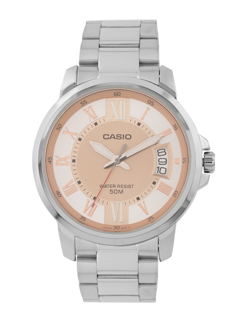 Casio Enticer MTP-E130D-9AVDF (A1166) Analog Rose Gold Dial Men's Watch (MTP-E130D-9AVDF (A1166))