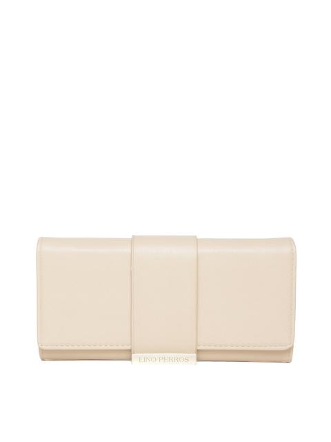 Lisa Haydon for Lino Perros Women Beige Wallet