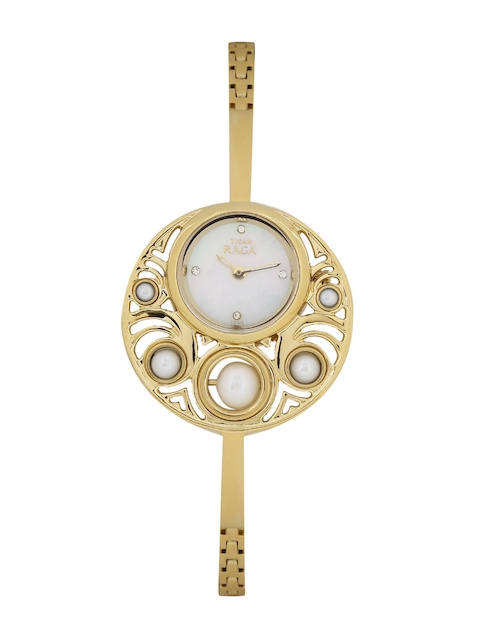 Titan 9972YM01J Raga Analog Watch
