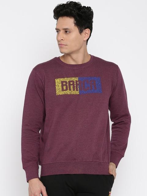 Barcelona Burgundy Sweatshirt