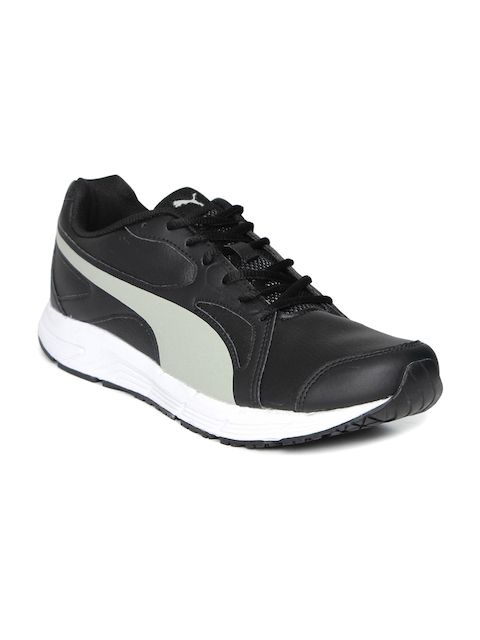 Puma Men Black & Grey Axis V4 SL IDP Running Shoes