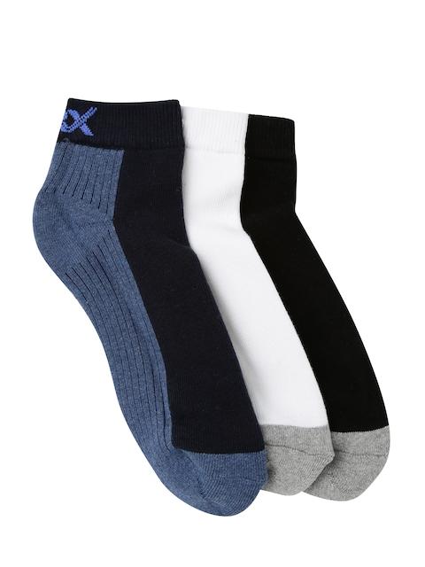 HRX by Hrithik Roshan Active Men Set of 3 Ankle-Length Socks