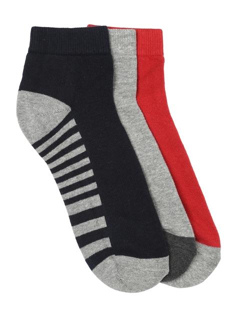 Roadster Men Pack of 3 Ankle-Length Socks