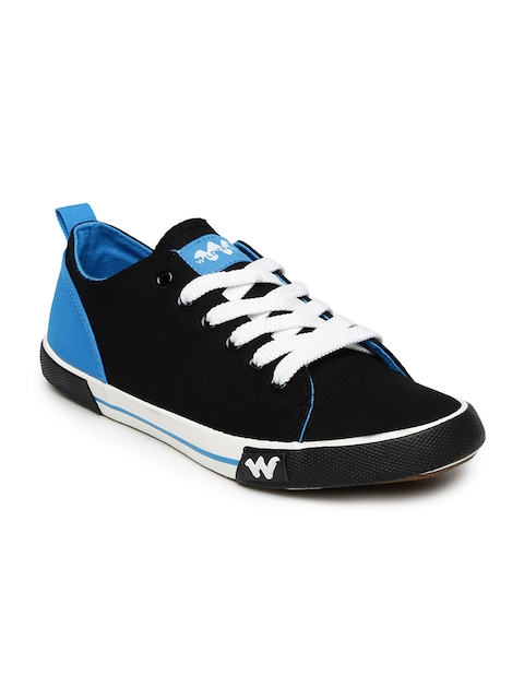 Wildcraft Men Black & Blue Kepa Sneakers