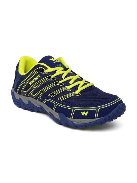Wildcraft Men Blue Harley Blu Grn 11 M Trekking Shoes