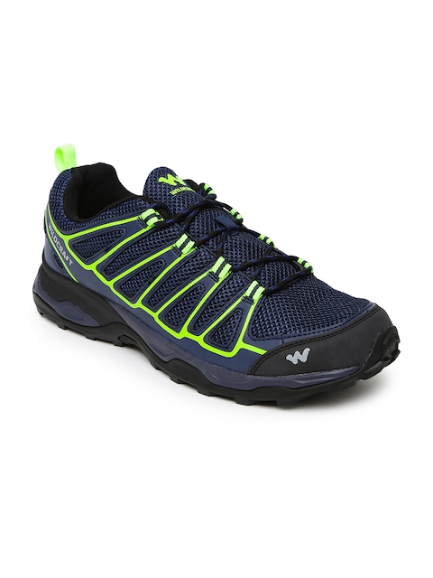 Wildcraft Men Navy Keir Blue 11 M Trekking Shoes