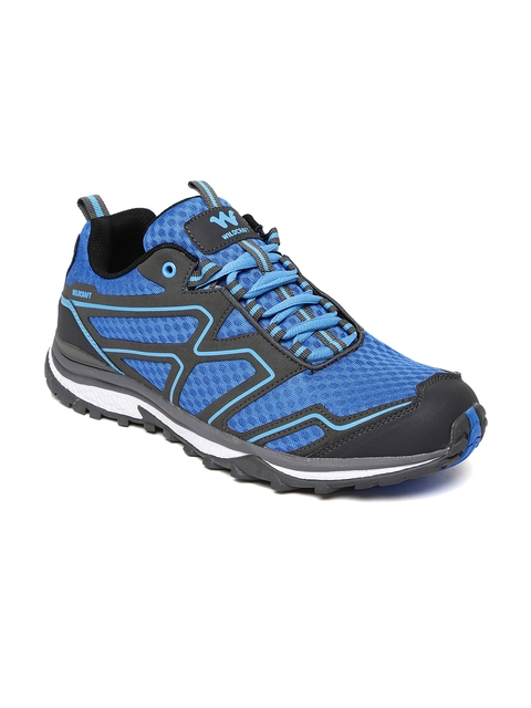 Wildcraft Men Blue Keith Blk Blu 11 M Trekking Shoes