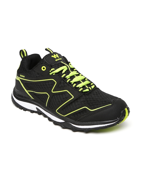 Wildcraft Men Black Keith Blk Grn 11 M Trekking Shoes