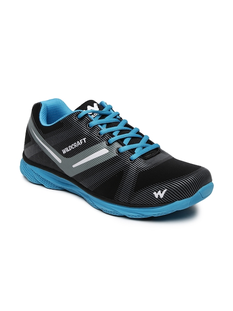 Wildcraft Men Black & Grey Lampon Training Shoes
