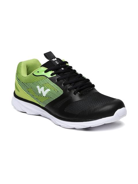 Wildcraft Men Black & Green Nastas Training Shoes