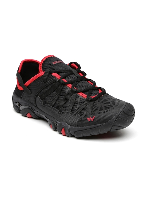 Wildcraft Men Black Trail Shoes