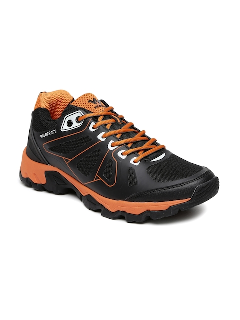 Wildcraft Men Black Helios Gry Orng 11 M Training Shoes