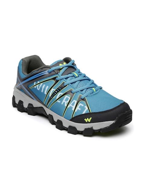 Wildcraft Men Blue Printed Orion Blue 11 M Trekking Shoes