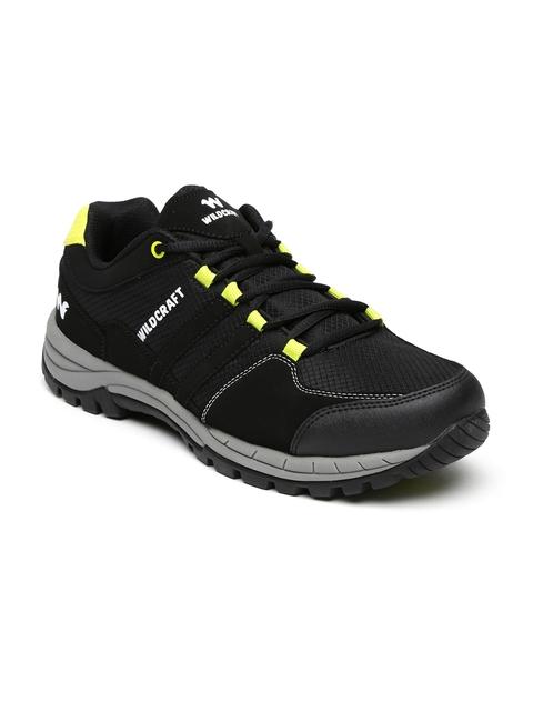 Wildcraft Men Black Trekking Shoes