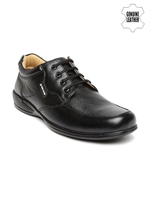 Red Chief Men Black Solid Derby Casual Shoes