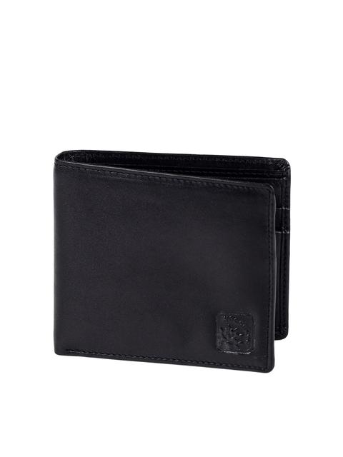 Woodland Men Black Genuine Leather Wallet