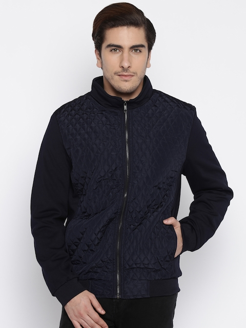The Indian Garage Co. Navy Quilted Jacket