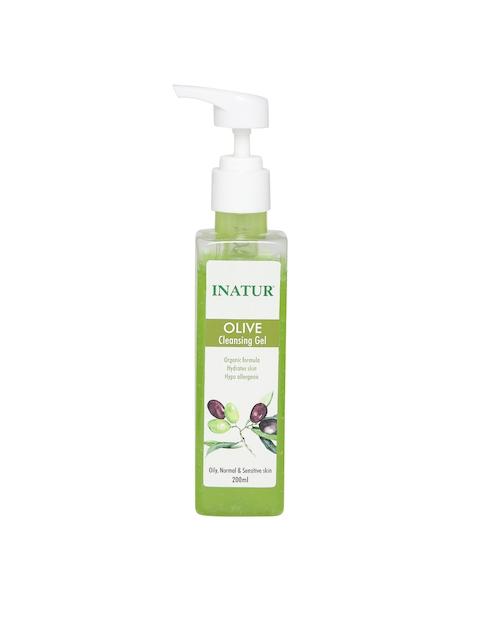 Inatur Unisex Olive Cleansing Gel