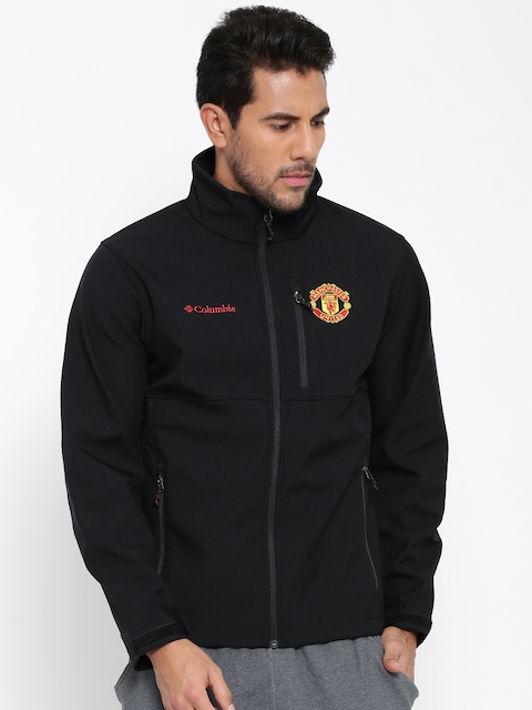 Columbia Black Ascender Softshell Manchester United F.C. Sporty Jacket