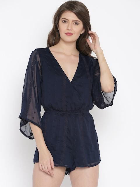 FOREVER 21 Navy Rompers