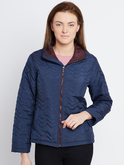 Fort Collins Navy Quilted Jacket