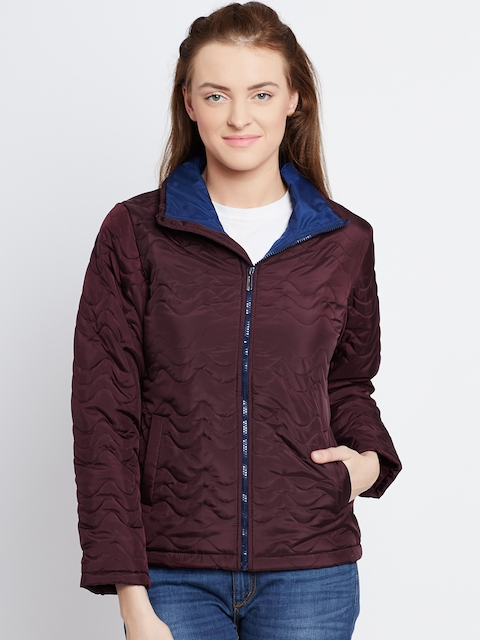 Fort Collins Burgundy Quilted Jacket