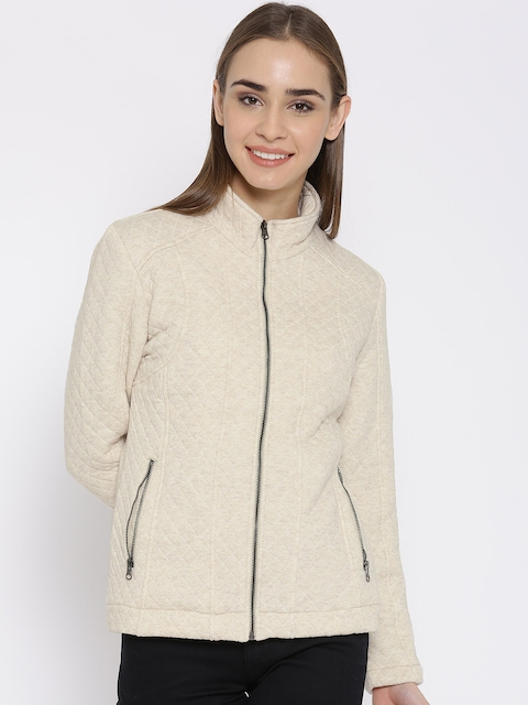 Fort Collins Cream-Coloured Quilted Jacket