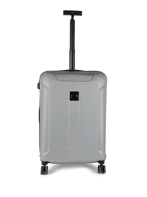 DELSEY Unisex Grey Exception Medium Trolley Suitcase