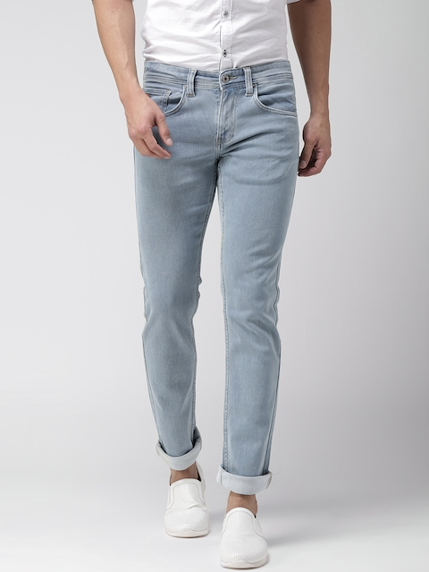 Celio Men Blue Slim Fit Stretchable Jeans  available at myntra for Rs.1299
