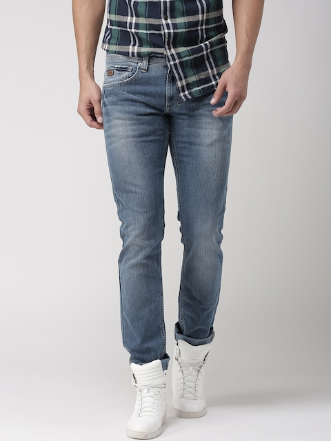 Celio Men Blue Slim Fit Stretchable Jeans  available at myntra for Rs.1679