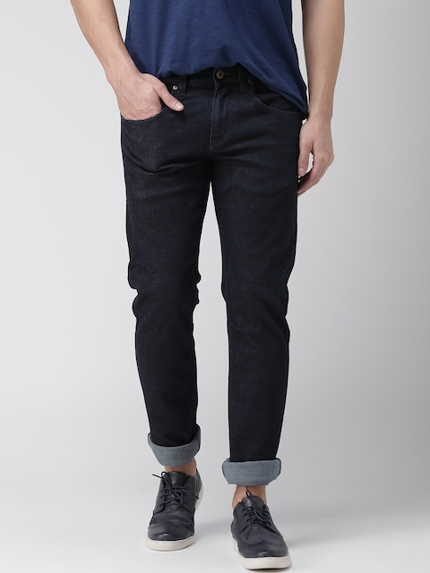 Celio Men Navy Blue Slim Fit Stretchable Jeans  available at myntra for Rs.1559