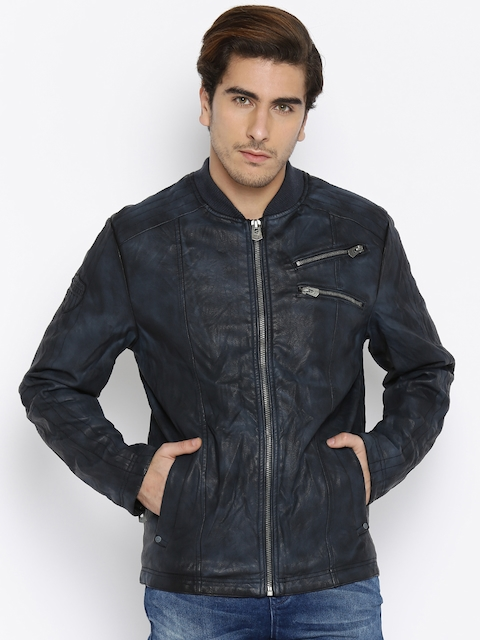 Being Human Navy Bomber Jacket