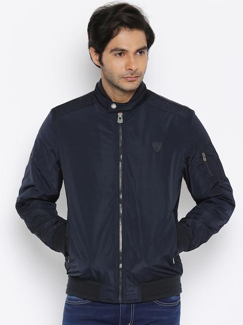 Being Human Clothing Men Navy Blue Tailored Jacket