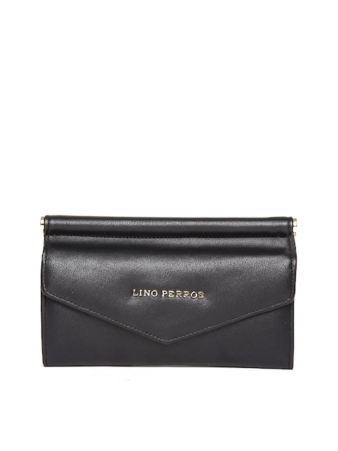 Lino Perros Women Black Wallet