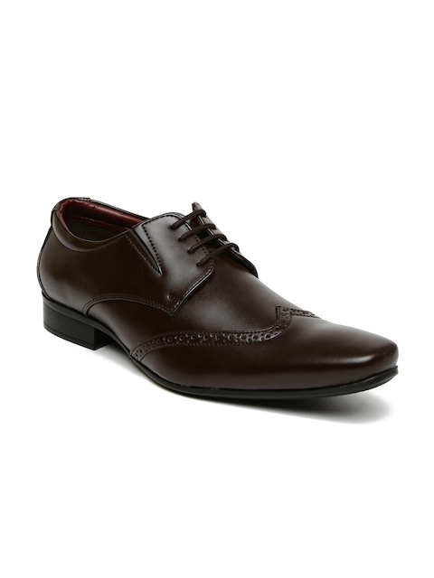 Bata Men Brown Semiformal Brogues
