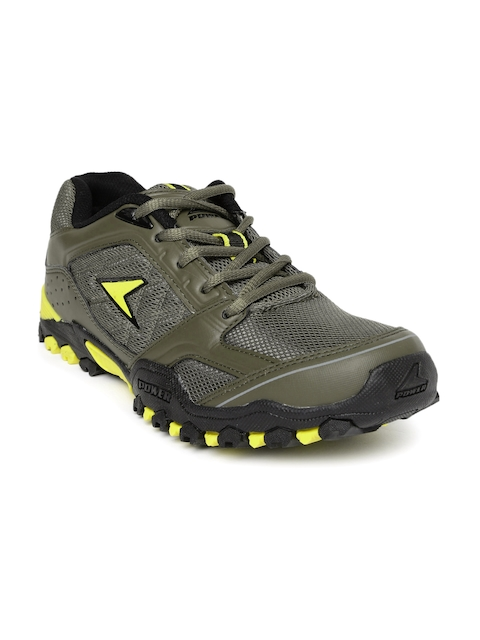 Power Men Olive Green Africa Running Shoes