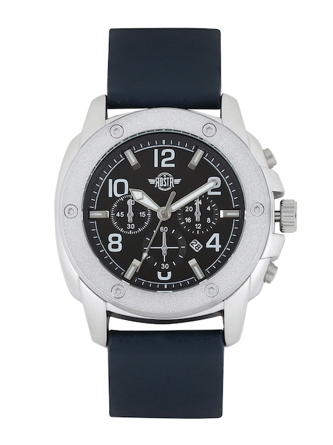 RDSTR by Roadster Men Black Analogue Watch