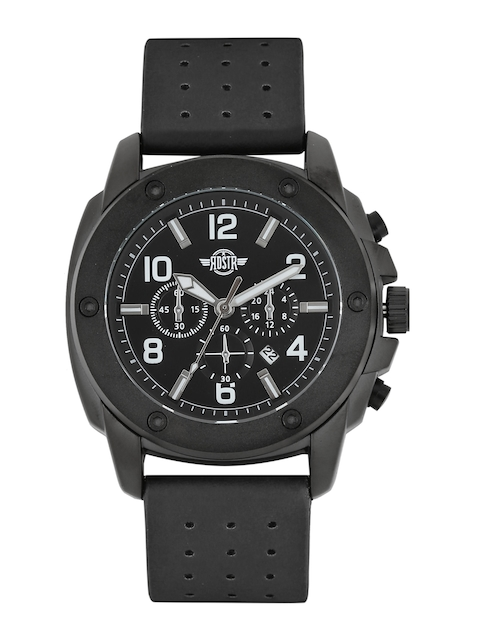 RDSTR Men Black Analogue Watch MFB-PN-WTH-5795-2B