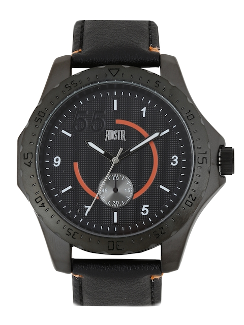 RDSTR by Roadster Men Black Analogue Watch MFB-PN-WTH-4935-2A