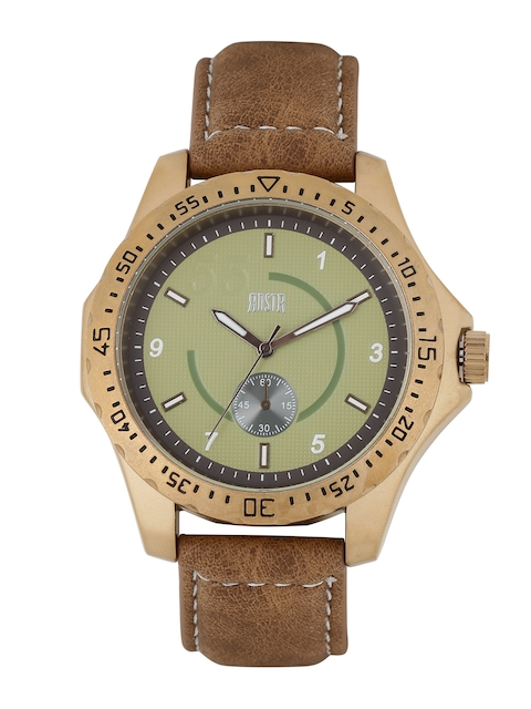 RDSTR by Roadster Men Green Analogue Watch MFB-PN-WTH-4935-2B