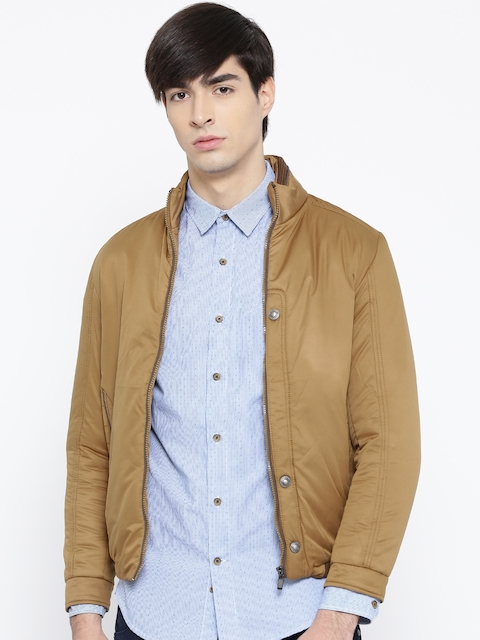 Fort Collins Khaki Jacket  available at myntra for Rs.1139