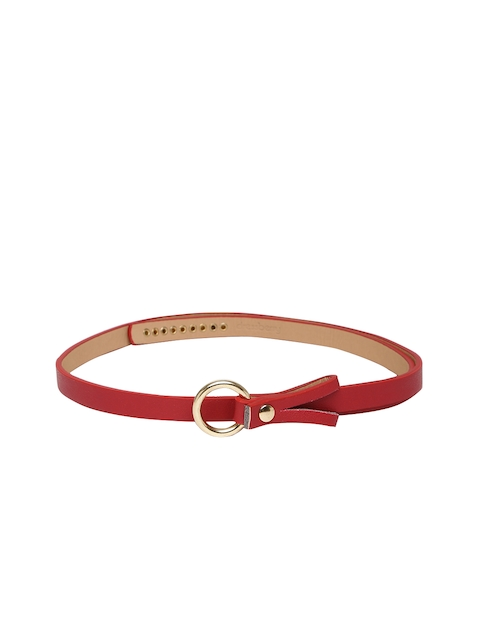 DressBerry Women Red Belt