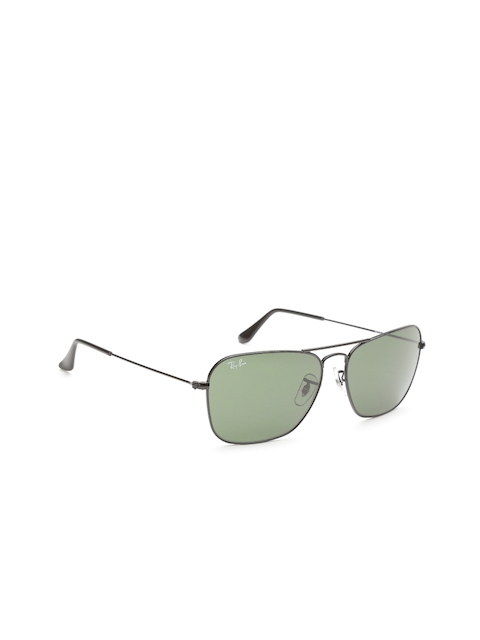 Ray-Ban Men Rectangle Sunglasses 0RB3145I00455-004