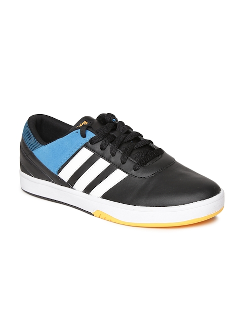Adidas NEO Men Black Park ST KFLIP Solid Sneakers  available at myntra for Rs.1839