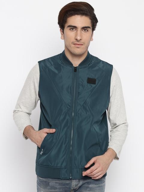 Jack & Jones Green Sleeveless Jacket