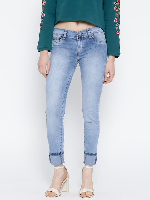 Pepe Jeans Blue Washed Jeggings