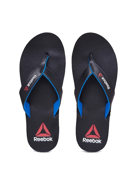 Reebok Men Black Advent Flip-Flops  available at myntra for Rs.779